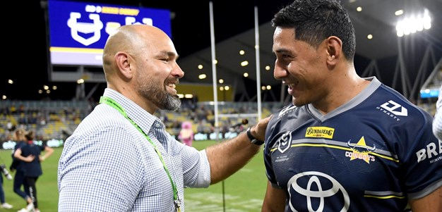 Payten on Taumalolo's milestone, Tabuai-Fidow's progress and centre pairing
