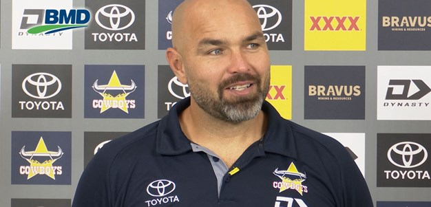 Payten on Luki's debut, Gilbert starting & short turnaround