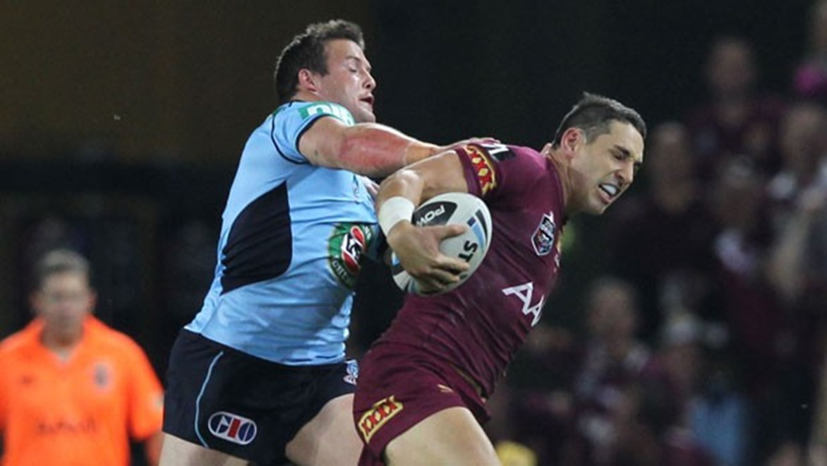 Billy Slater is one of several Queensland stars battling to be fit for State of Origin II. Credit: Col Whelan Copyright: NRL Photos
