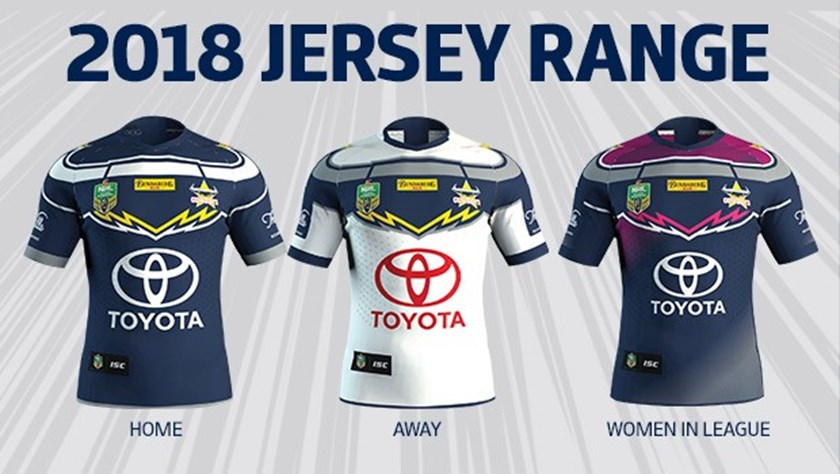 All jerseys feature the distinctive bulls horn design and the emblems of  jersey sponsors Toyota e22df5146