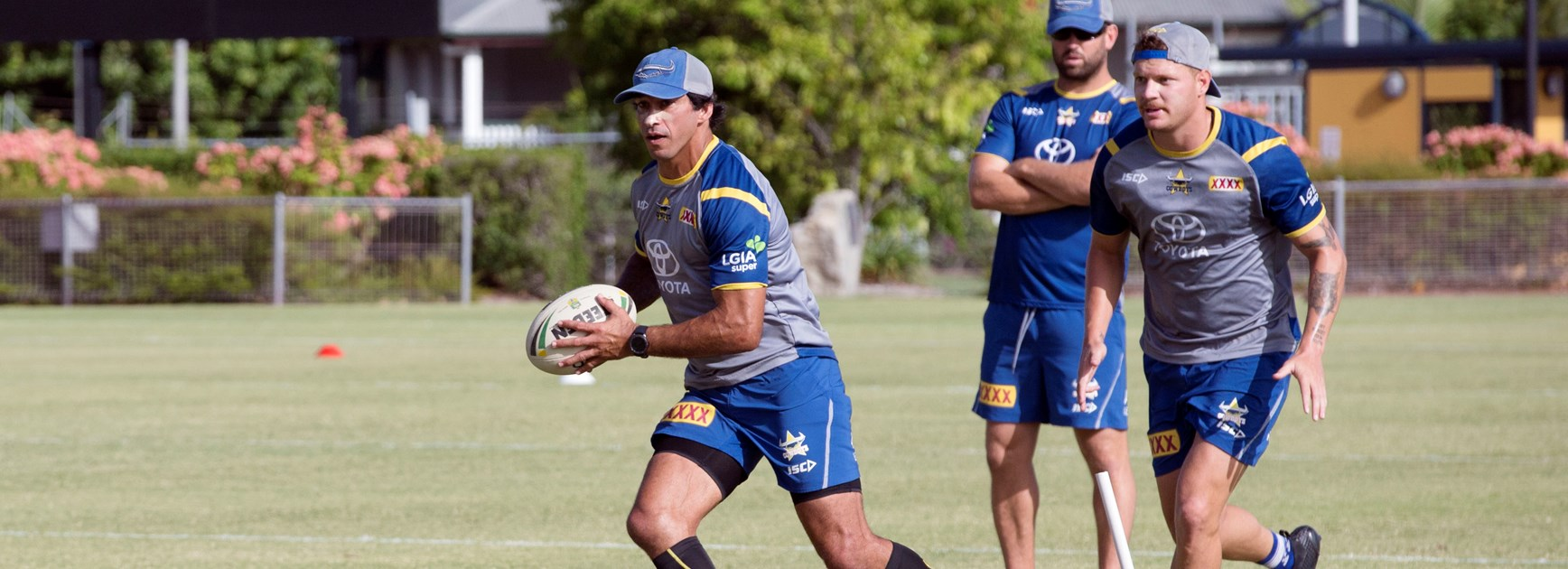 Co-captains to lead the charge in Cairns trial