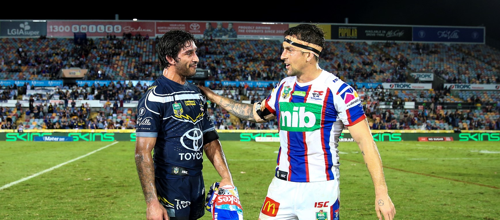 GALLERY: Cowboys v Knights
