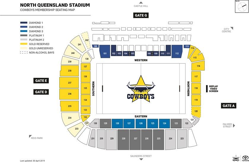 Cowboys Unveil 2020 Membership Map Cowboys